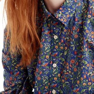 J Crew Liberty Catesby Perfect Shirt